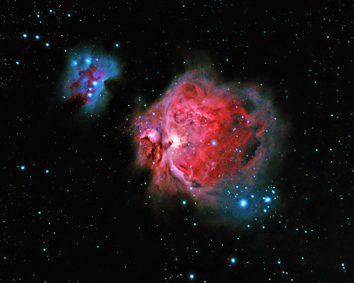 M42, Orion Nebula, NP-101, Canon T2i